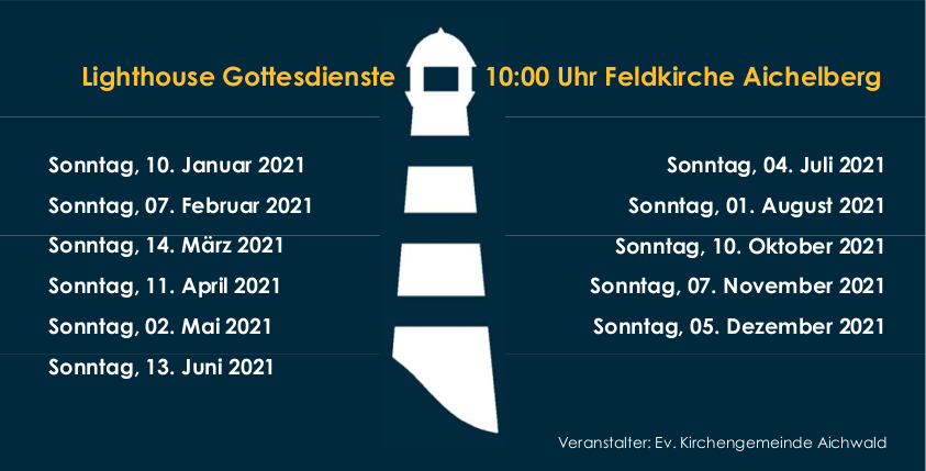 Flyer Lighthouse 2021 Rückseite